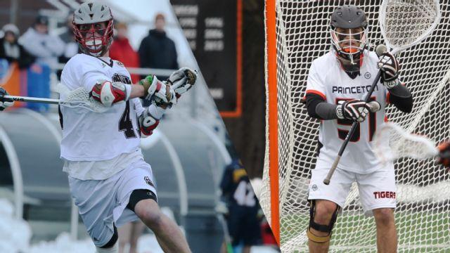#13 Brown vs. #10 Princeton (M Lacrosse)