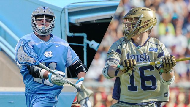 #2 North Carolina vs. #1 Notre Dame (M Lacrosse)