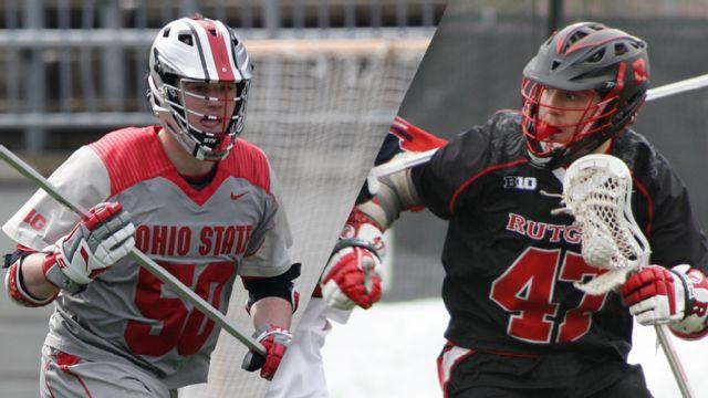 #11 Ohio State vs. Rutgers (M Lacrosse)