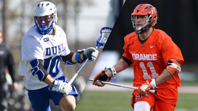 #6 Duke vs. #4 Syracuse (Championship) (ACC Men's Lacrosse Championship) (re-air)