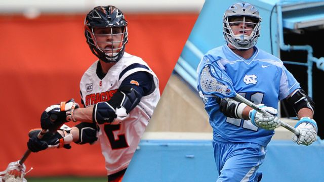 #4 Syracuse vs. #2 North Carolina (Semifinal #2) (ACC Men's Lacrosse Championship)