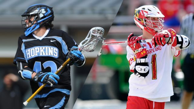 Johns Hopkins vs. #6 Maryland (Semifinal #2) (NCAA Men's Lacrosse Championship)