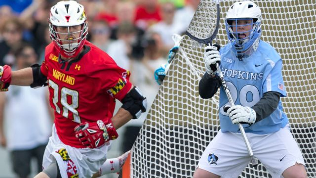 #3 Maryland vs. #8 Johns Hopkins (M Lacrosse)