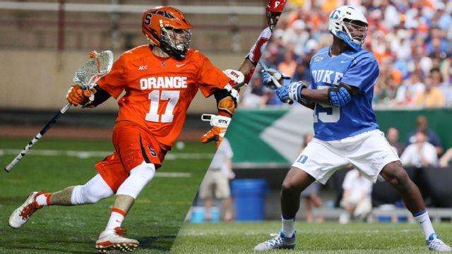 #7 Syracuse vs. #14 Duke (Championship) (Championship) (ACC Men's Lacrosse Championship)
