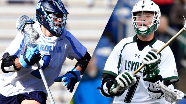 North Carolina vs. Loyola (Semifinal #1) (NCAA Men's Lacrosse Championship) (re-air)