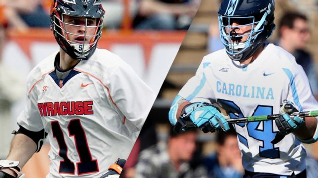 #7 Syracuse vs. #10 North Carolina (Semifinal #1) (ACC Men's Lacrosse Championship)