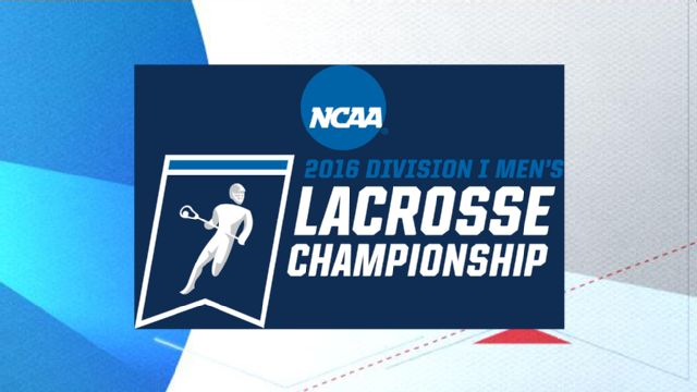 2016 NCAA Men's Lacrosse Championship Trophy Presentation