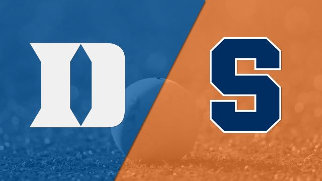 #11 Duke vs. #6 Syracuse (M Lacrosse)
