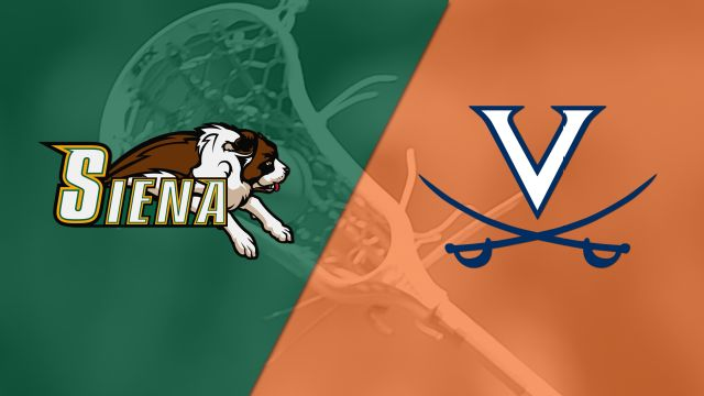 Siena vs. #7 Virginia (M Lacrosse)
