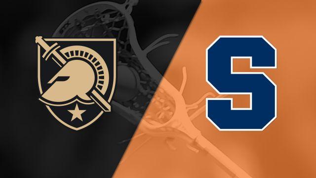 Army vs. #6 Syracuse (M Lacrosse)