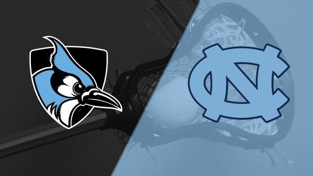 #4 Johns Hopkins vs. #3 North Carolina (M Lacrosse)