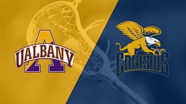 #9 Albany vs. Canisius (M Lacrosse)