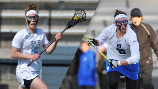 #17 Johns Hopkins vs. #4 Duke (W Lacrosse)