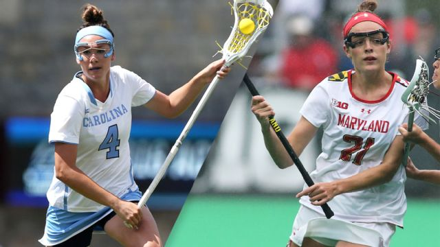 #3 North Carolina vs. #1 Maryland (Championship) (NCAA Women's Lacrosse Championship) (re-air)