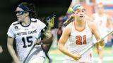#9 Notre Dame vs. #5 Syracuse (Semifinals) (ACC Women's Lacrosse Championship)