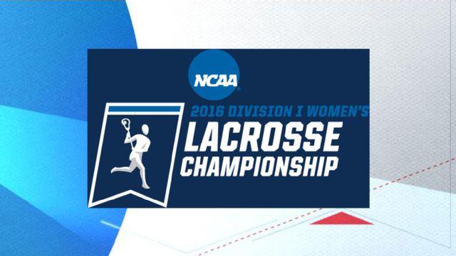 2016 NCAA Women's Lacrosse Championship Trophy Presentation (NCAA Women's Lacrosse Championship)