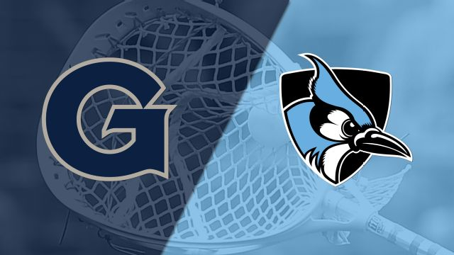 Georgetown vs. #18 Johns Hopkins (W Lacrosse)