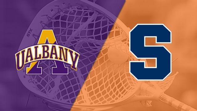 Albany vs. #4 Syracuse (W Lacrosse)