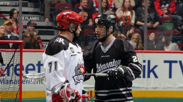 Edmonton Rush vs. Calgary Roughnecks