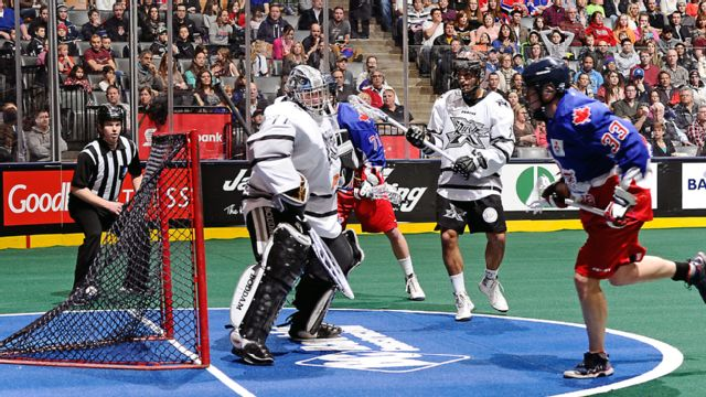 Edmonton Rush vs. Toronto Rock (Champion's Cup Finals, Game 1)