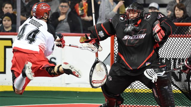 Vancouver Stealth vs. Calgary Roughnecks