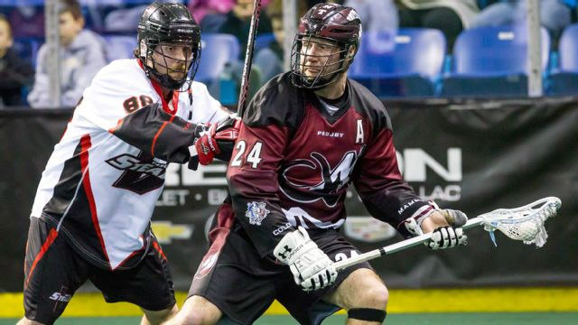 Colorado Mammoth vs. Vancouver Stealth
