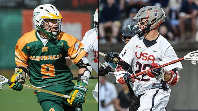 Australia vs. United States (World Lacrosse Championship)