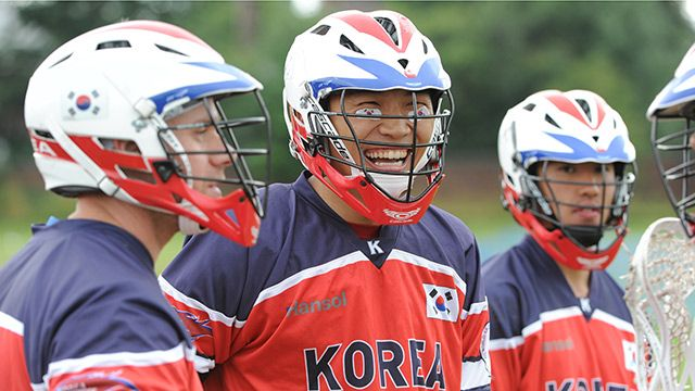Korea vs. Sweden (World Lacrosse Championship)