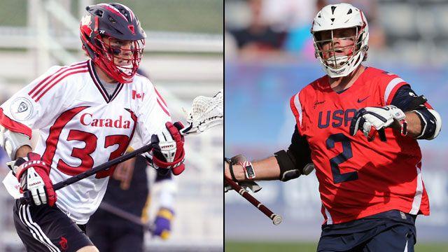Canada vs. United States (Championship) (World Lacrosse Championship)