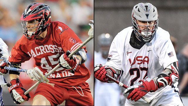 Canada vs. United States (World Lacrosse Championship) (re-air)
