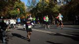 2014 New York City Half Marathon - Finish Cam