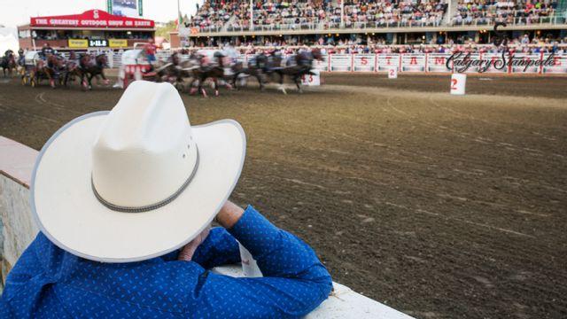 Calgary Stampede - Chuckwagon Racing (Day 3)