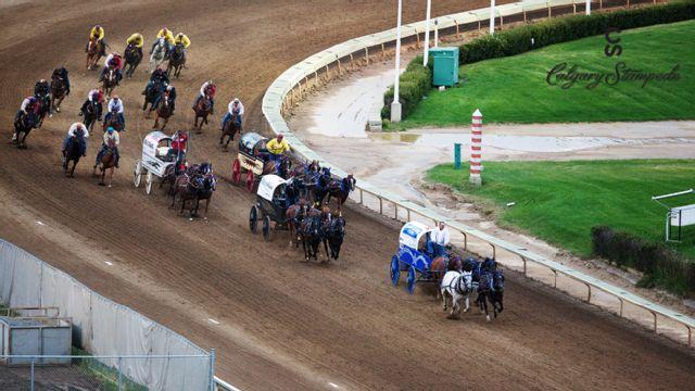 Calgary Stampede - Chuckwagon Racing (Day 5)