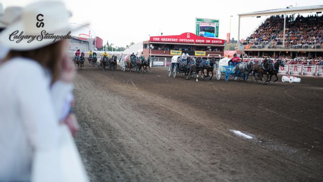 Calgary Stampede - Chuckwagon Racing (Day 6)