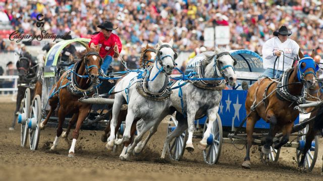 Calgary Stampede - Chuckwagon Racing (Day 7)