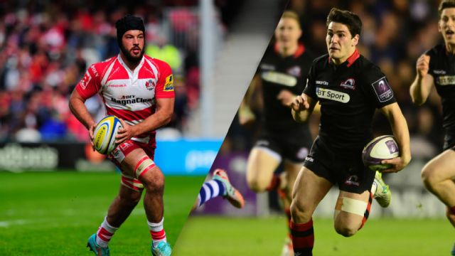 Gloucester Rugby vs. Edinburgh Rugby (Final) (European Challenge Cup)
