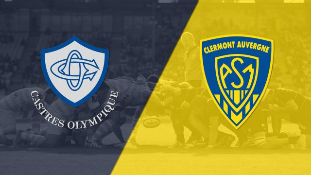 Castres vs. Clermont (French Rugby)