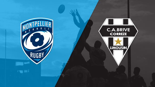 Montpellier vs. Brive (French Rugby)
