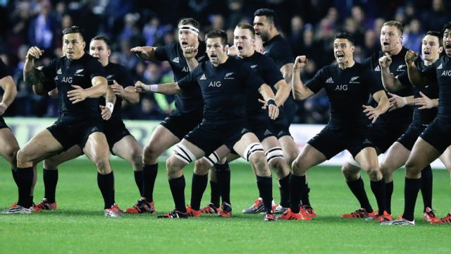 New Zealand All-Blacks vs. Manu Samoa (International Rugby)