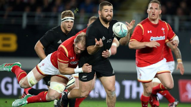 Wales vs. New Zealand All-Blacks (International Rugby)
