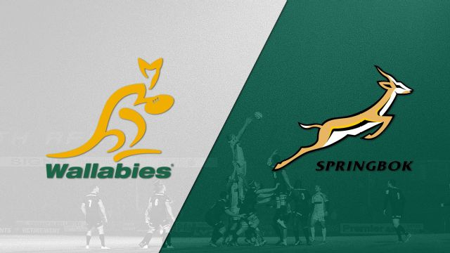 Australia vs. South Africa (The Rugby Championship)