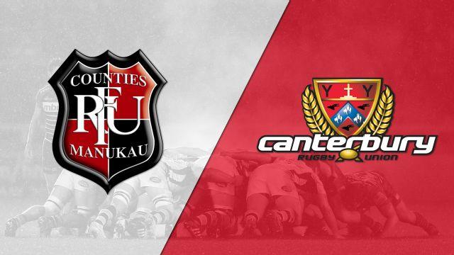 Counties Manukau vs. Canterbury (Semifinals) (Mitre 10 Cup)