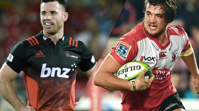 Crusaders vs. Lions (Quarterfinals) (Super Rugby)