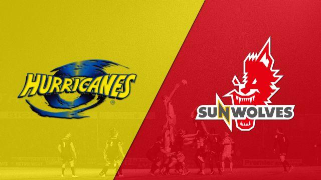 Hurricanes vs. Sunwolves (Super Rugby)
