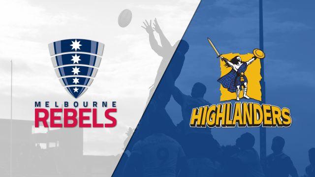 Rebels vs. Highlanders (Super Rugby)