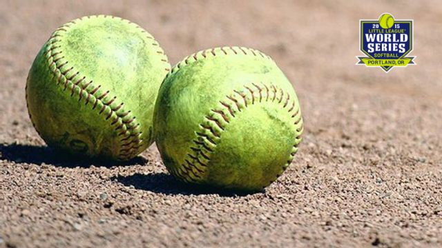 2015 Little League Softball (Championship)