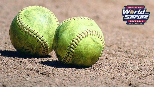 Rowan, NC vs. Greater Helotes, TX Little League Softball World Series)