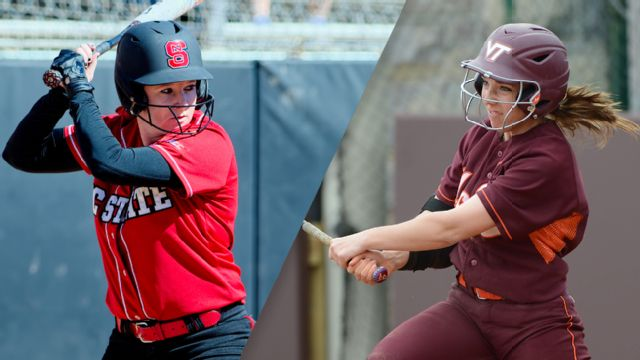 North Carolina State vs. Virginia Tech (Softball) (re-air)