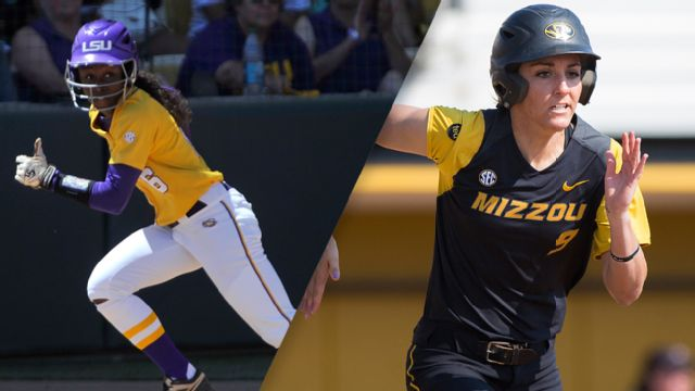 #3 LSU vs. #17 Missouri (Softball)