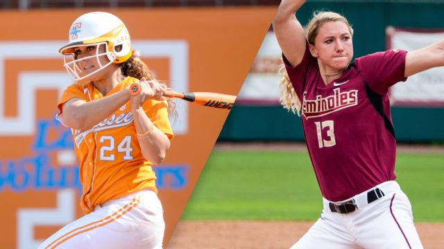 #8 Tennessee vs. #9 Florida State (Site 1 / Game 2) (NCAA Softball Championship)